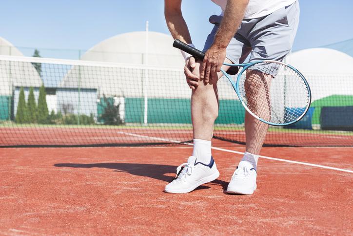 Racket Sports May Make Knee Arthritis Worse